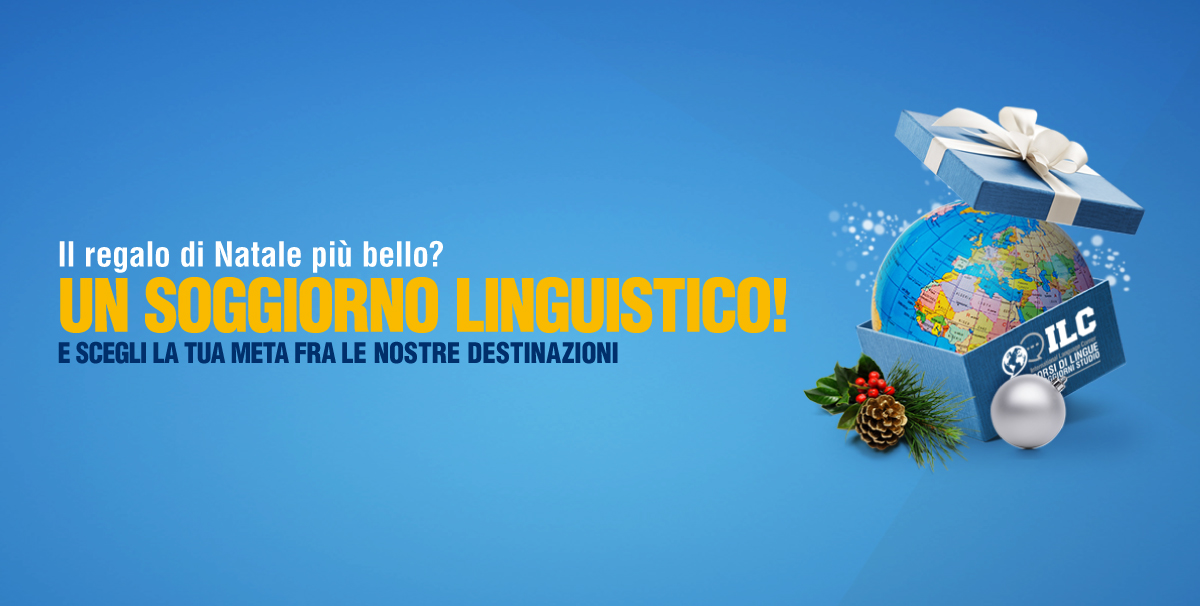 A Natale regala un soggiorno linguistico - International Language Corner