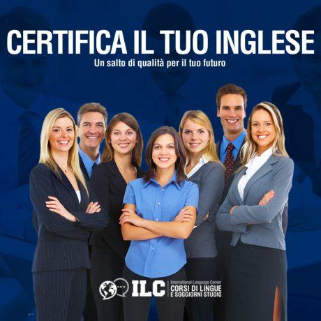 Certifica il tuo inglese: 30% di sconto sui corsi individuali Leggi l'articolo
